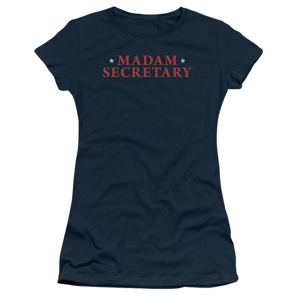 Madam Secretary/Logo Junior Sheer in Navy