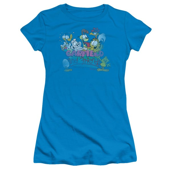 Garfield/Garfield and Friends Junior Sheer in Turquoise