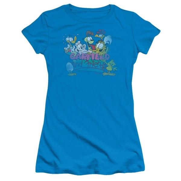 Garfield/Garfield and Friends Junior Sheer in Turquoise