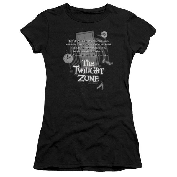 Twilight Zone/Monologue Junior Sheer in Black