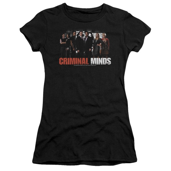 Criminal Minds/The Brain Trust Junior Sheer in Black