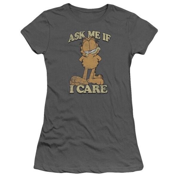 Garfield/Ask Me Junior Sheer in Charcoal
