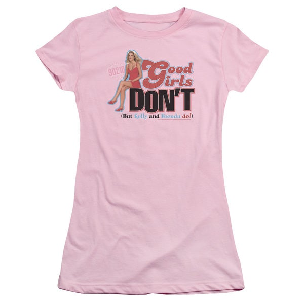 90210/Good Girls Don't Junior Sheer in Pink