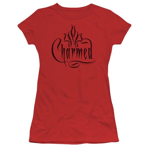 Charmed/Charmed Logo Junior Sheer in Red
