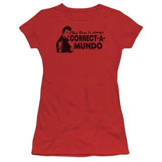 Happy Days/Correct A Mundo Junior Sheer in Red