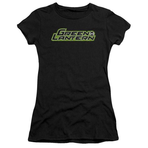 Green Lantern/Scribble Title Junior Sheer in Black