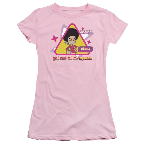 Quogs/Out Of My Space Junior Sheer in Pink
