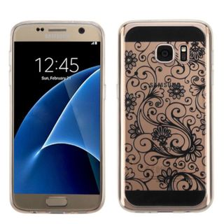 Insten Four-leaf Clover TPU Rubber Candy Skin Case Cover For Samsung Galaxy S7