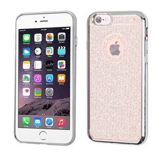Insten Glittering TPU Rubber Candy Skin Glitter Case Cover For Apple iPhone 6 Plus/ 6s Plus