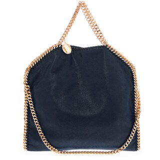 Stella McCartney Falabella Shaggy Deer Fold-Over Tote