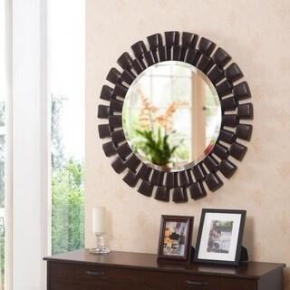 """Hera Oil Rubbed Bronze Wall Mirror - 36"""" Dia."""