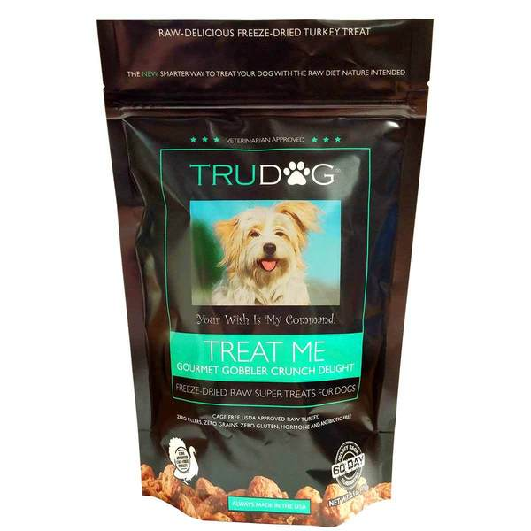 Trudog Treat Me Gourmet Gobbler Crunch Delight Dog Treats 2.5 oz