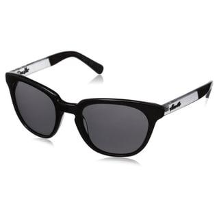 Kenneth Cole New York Men's KC7143W5201A Black Wayfarer Sunglasses