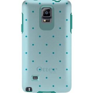 Otterbox 77-50564 Symmetry Series Case for Samung Galaxy Note 4 - Aqua Dot
