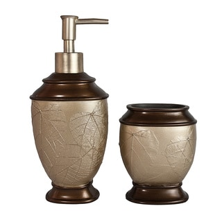 Sherry Kline Hemingway 2-piece Bath Accessory Set