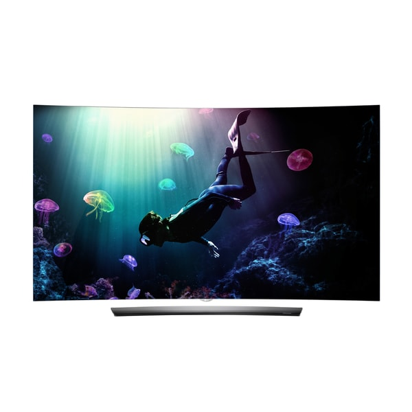 LG OLED65C6P Black 65-inch Glass Curved 4K OLED Television 19038812