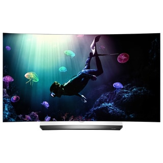 LG OLED55C6P 55-inch Class Curved 4K OLED UHD 3D Television