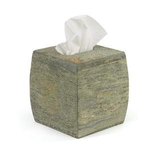 Hip Vintage Slate Stone Tissue Box
