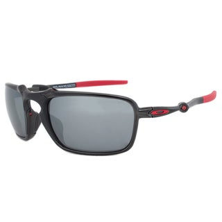 Oakley Badman Polarized Ferrari Edition Sunglasses OO6020-07