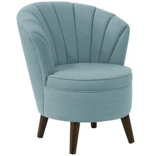 angelo:HOME Channel Seam Linen Seaglass Tub Chair
