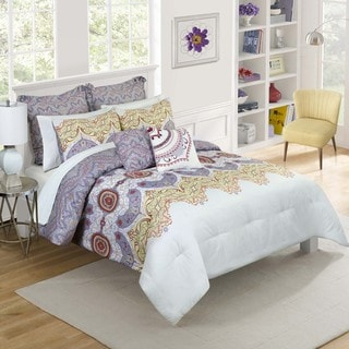 Vue Cordova Purple 7-piece Comforter Set
