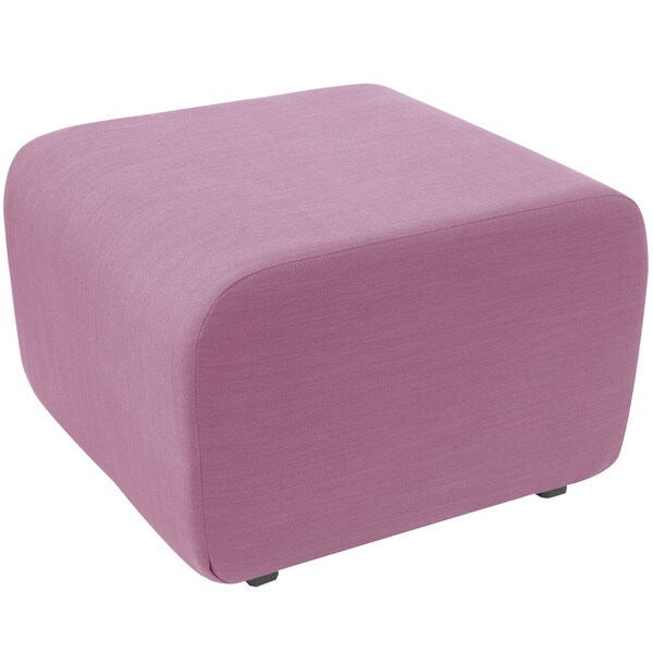 angelo:HOME Linen Lavender Cocktail Ottoman
