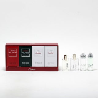 Cartier Men's 4-piece Mini Fragrance Set