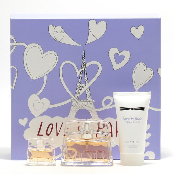 Nina Ricci Love In Paris Women's 3-piece Gift Set