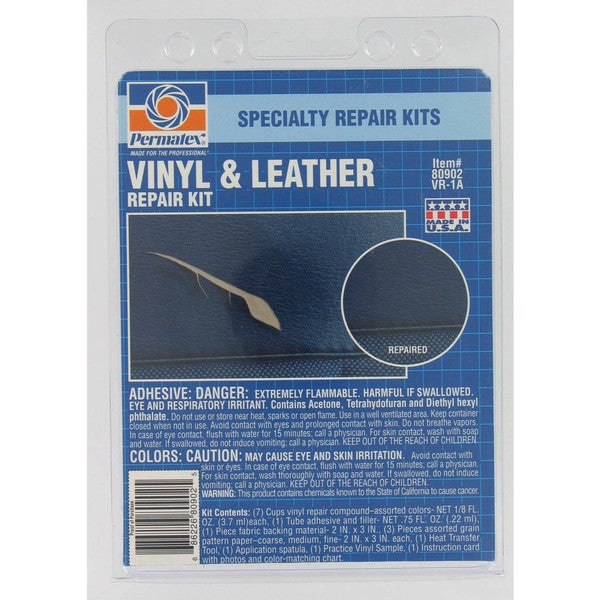 Permatex 80902 Vinyl & Leather Repair Kit