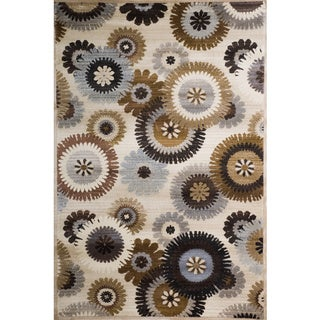 Christopher Knight Home Weslyn Michelle Multi Color Floral Rug (5' x 8')