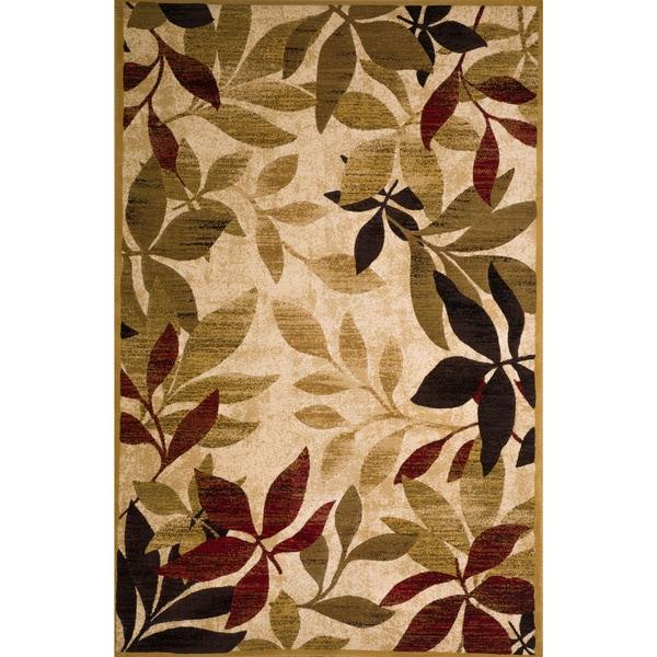 Christopher Knight Home Violetta Hestia Leaf Rug (5' x 8')