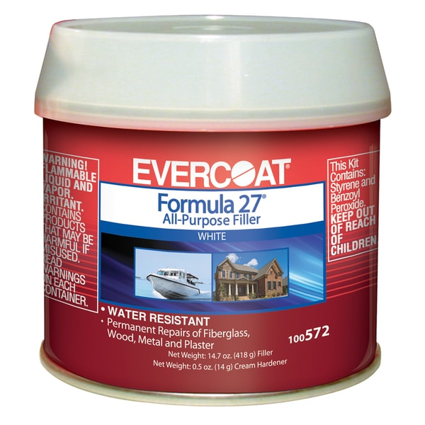 Evercoat 100572 1/2 Pint Formula 27 All Purpose Filler