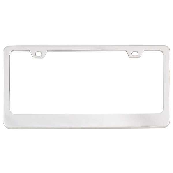 Bell 46215-8 Chrome Dealer Classic License Plate Frame