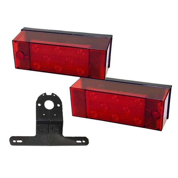 PM V947 LED Rear Trailer Light Kit For Trailers 80-inch Wide & Over