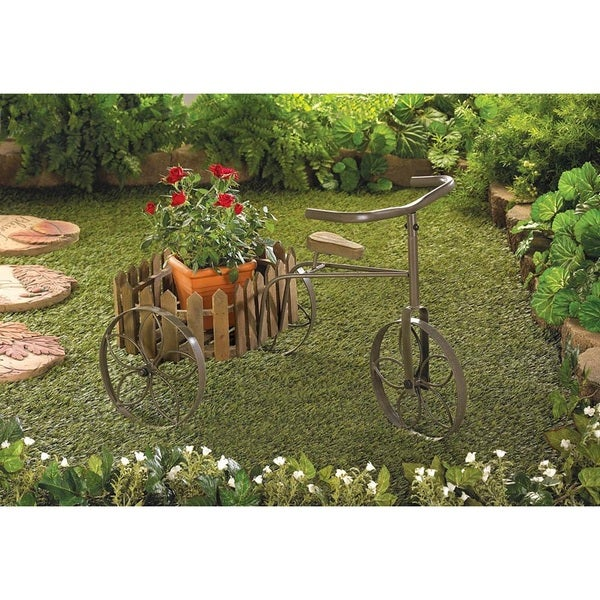Hackney Tricycle Plant Holder
