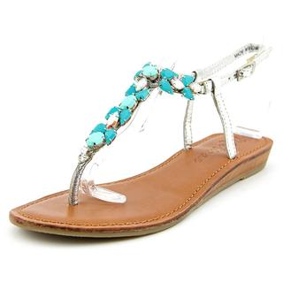 Matisse Women's Tender Silver Leather Sandals