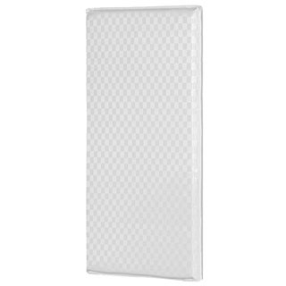 Vinyl and Foam 2-inch x 36-inch x 18-inch Hypoallergenic Antimicrobial Cradle Mattress
