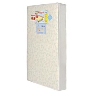 Visco Pedic Dream on Me White Vinyl Standard Crib and Toddler Mattress