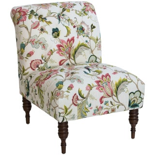 Skyline Furniture Floral Tufted Chair