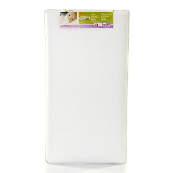 Dream on Me 150C Vinyl Convoluted Orthopedic Inner-spring Crib and Toddler Standard Mattress