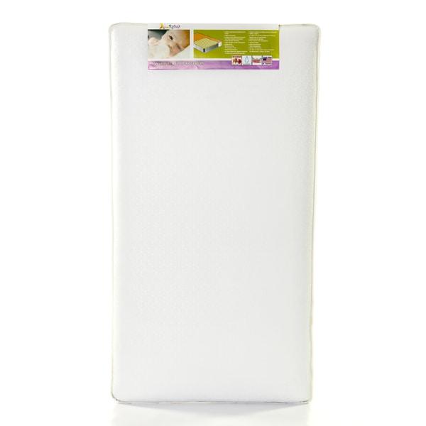 Dream On Me 150 Ultra Coil Inner Spring Vinyl Crib & Toddler Hypoallergenic Mattress