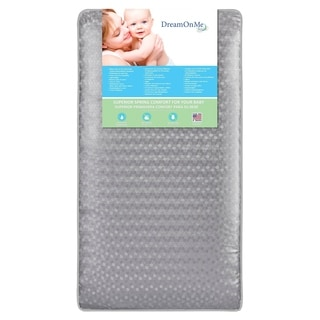 Superior Slumber Dream on Me Vinyl 6-inch 112-coil-spring Crib and Toddler Mattress
