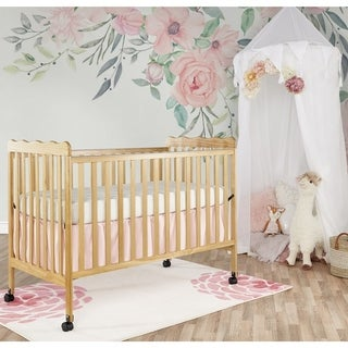 Dream On Me Natural Wood 2-in-1 Classic Convertible Crib