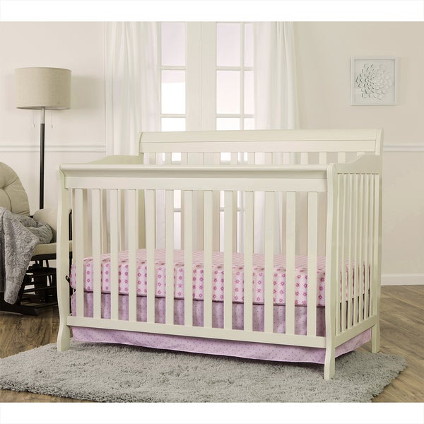 Dream On Me 5-in 1-Ashton Cream-colored Wood Convertible Crib