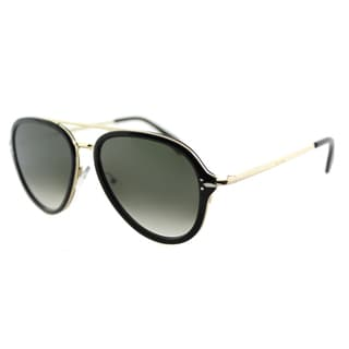 Celine CL 41374 ANW Black And Gold Aviator Sunglasses Grey Gradient Lens