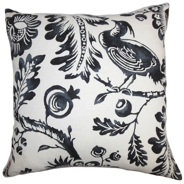 Abina Floral Throw Pillow Cover