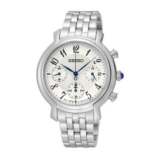 Seiko Women's SRW875P1 Conceptual Silver Watch