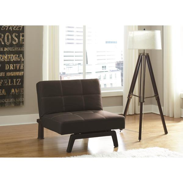 DHP Delaney Black Chair