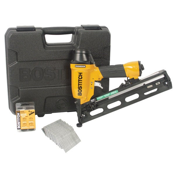 Bostitch Stanley N62FNK-2 Angled Finish Nailer Kit