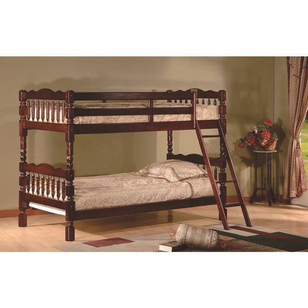 LYKE Home Carly Twin/Twin Bunk Bed